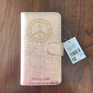 Michael Kors iPhone 7 case/ wallet